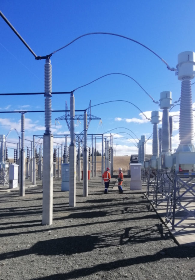 Electrical Infrastructure - Naseby Substation Upgrade